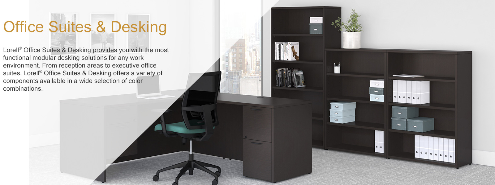 Office Suites Desking Lorell Furniture