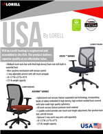 USA Seating  Flyer Vevo & Adorn