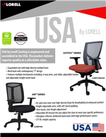 USA Seating Justice & Air Series
